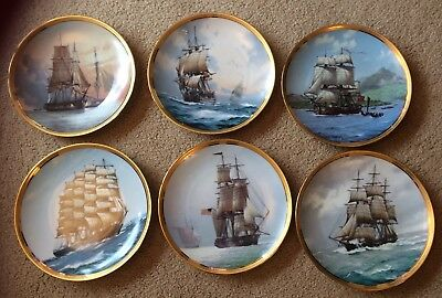 The Great Ships Of The Golden Age Of Sail Plates