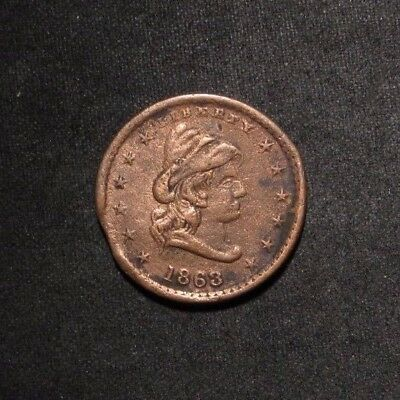 "1863 ""Our Army"" Civil War Token"