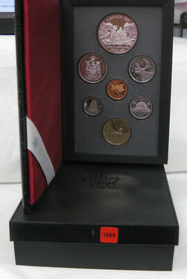 1989 Canadian Proof Set Commem Silver Dollar  /Discovery Northwestern Canada
