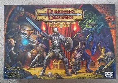 Dungeons and Dragons The Fantasy Adventure Board Game Parker 2003