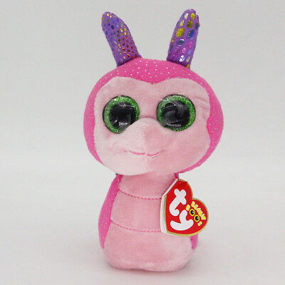 """6"""" Ty Beanie Boos Scooter Snail Reg Stuffed Animal Plush Toys Child Gifts A1"""