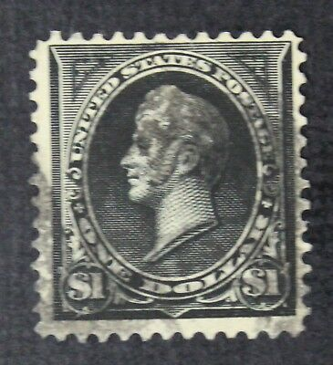 CKStamps: US Stamps Collection Scott#276A $1 Perry Used Lightly Crease CV$210