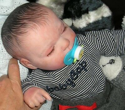 REBORN  BABY DOLL - JADEN -- with extra outfits