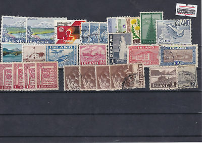 Iceland Stamps Ref: R5717