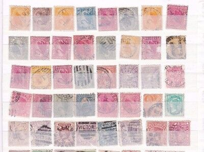 Mixed  Australia  Early Stamps Unchecked  R 2271
