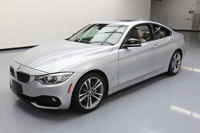 2014 BMW 4-Series Base Coupe 2-Door 2014 BMW 435I COUPE SPORT LINE SUNROOF ALLOY WHEELS 30K #192440 Texas Direct
