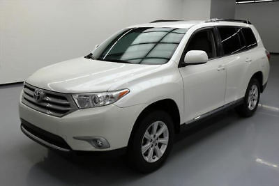 2012 Toyota Highlander  2012 TOYOTA HIGHLANDER SE 7-PASS LEATHER REAR CAM 51K #030738 Texas Direct Auto
