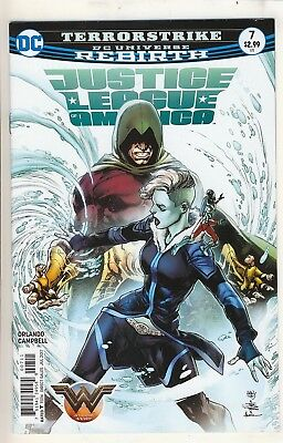 Justice League of America (2017) 7 NM Cover A