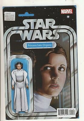 Princess Leia 1 NM Action Figure Variant Cover
