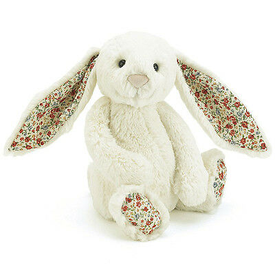 BASHFUL BLOSSUM LILY BUNNY ~ Medium By Jellycat London (NEW WITH TAGS)  SALE!