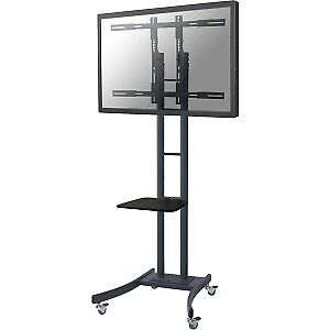 "NEW! Newstar Mobile Tv Floor Stand for 37-85"" Screen Height Adjustable Black 81."
