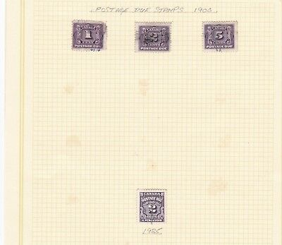 canada postage dues on page