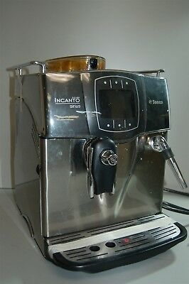 Saeco Incanto Sirius Espresso Machine - Silver Parts/ Repair