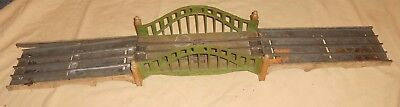 Vintage Pre-War 1930's Lionel Train #101 Standard Wide Gauge Bridge w/Approaches