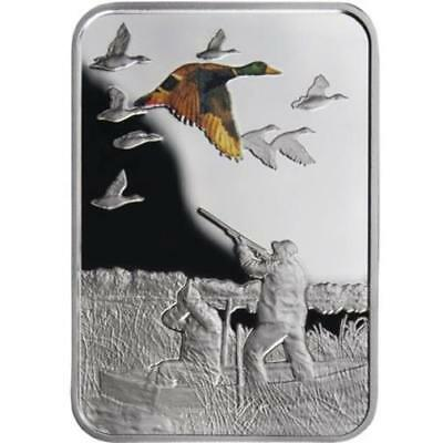 Malawi - 2011 - 20 Kwacha - Art of Hunting - DUCK HUNT - 28,8g - silver coin
