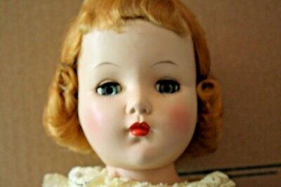 "Vintage Nancy Lee 1951 Arranbee R&b Walking 21"" Doll #210 Never Played With Nr"