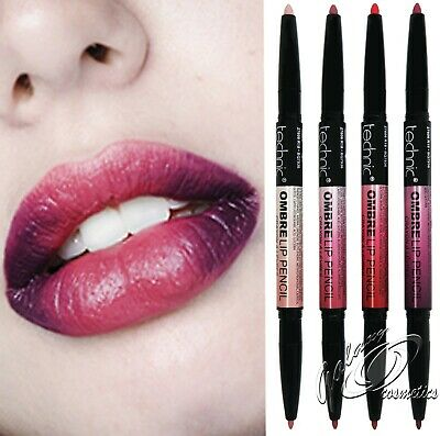 Technic OMBRE Lip Pencil Crayon Matte Lipstick Two Tone Dark and Light Shade