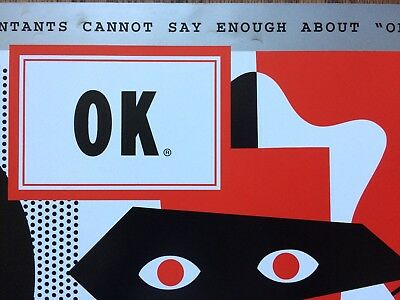 OK Cola Advertising Poster