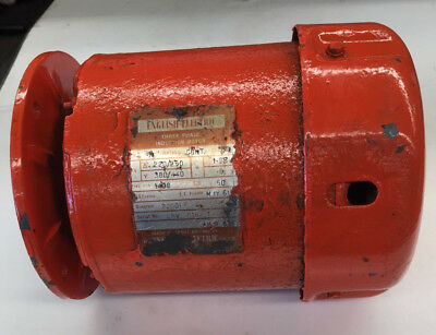 English Electric Three Phase Induction Motor Emw 28187/1