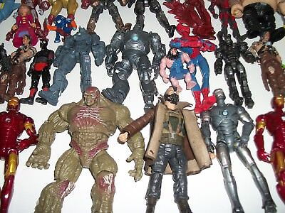 Mixed lot of 50 Action Figures, Superheroes & More-1017