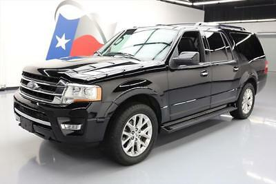2016 Ford Expedition Limited Sport Utility 4-Door 2016 FORD EXPEDITION EL LTD 4X4 ECOBOOST SUNROOF 39k mi #F52319 Texas Direct
