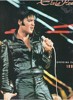 Elvis Presley 12-Month Calendar 1992 Never Used!! Candid Rare Out Of Print Epe