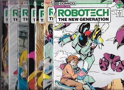 Robotech The New Generation Lot Of 13 #1 #2 #3 #4 #5 #6 #7 #8 #9 #10-#13 (Nm-)