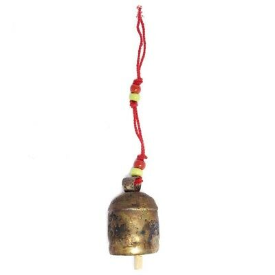 Handmade Copper Holiday Christmas Tree Bell - Ornament 4 inch - Matr Boomie