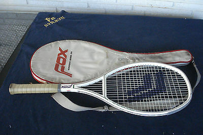 "Fox Bosworth Ceramic Precision WB 215 Tennis Racquet ""NEAR MINT"""