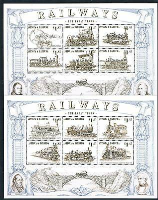 Antigua 1999 Railways SG 2141/52 MNH