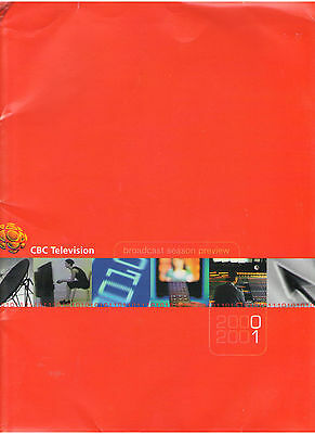 Cbc Tv Network Press Kit 2000-2001 Sydney Olympic Summer Games Press Releaes