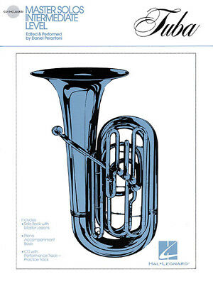 Master Solos for Tuba BC Piano Classical Sheet Music Play-Along Book CD Pack NEW