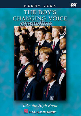 The Boy's Changing Voice Teacher Choral Director Vocal Lessons Video DVD NEW