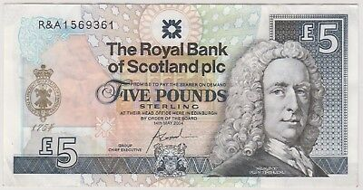 2004 £15 Five Pounds The Royal Bank Of Scotland St Andrews Note Circulated 446