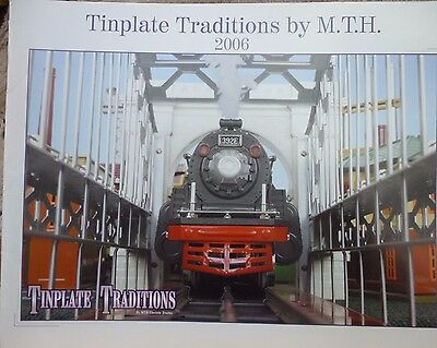 MTH 2006 Tinplate Train Traditions Catalog