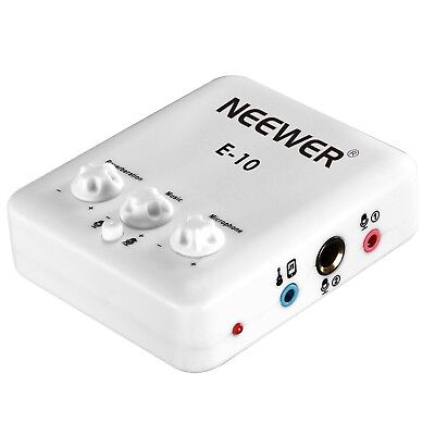 Neewer External USB Sound Card with Free Drive Design for Singing Recording