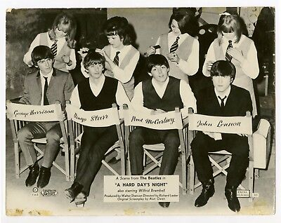 The Beatles 1964 A Hard Day's Night United Artists UK Promotional Photograph