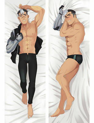 item japanese anime dakimakura pillows male long custom bl case bunny tiger hugging body pillow cover love