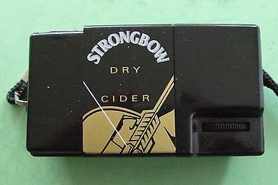Promotional 110 Novelty CAMERA - STRONGBOW CIDER -110 Film - 1980s