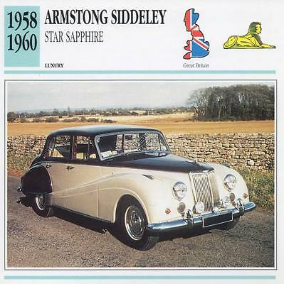 Oxford 76AS003 Armstrong Siddeley Star Sapphire New in Case T48