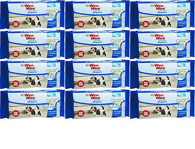 Four Paws Wee Wee Disposable Diapers, X-Small 144ct (12 x 12ct)