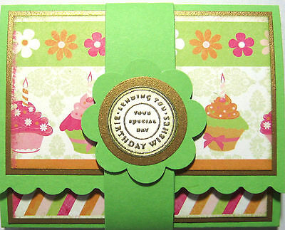 Handmade Birthday Gift Card Holder