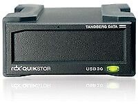 NEW! Tandberg Data 8782-RDX RDX EXTERNAL DRIVE BLACK