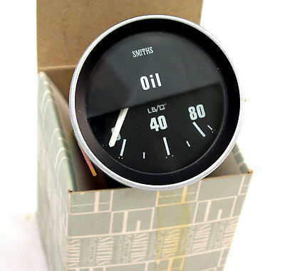New Smiths oil gauge for Jaguar Series 2 XJ6 XJ12