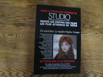 Mylene Farmer  French Clipping 1993