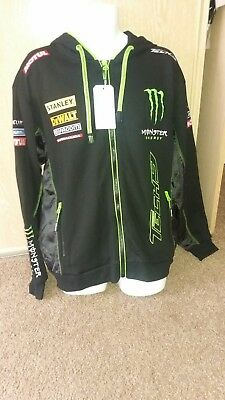 tech 3 moto gp monster energy hoodie size large and xl