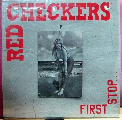 """Red Checkers - First Stop... LP 12"""""""