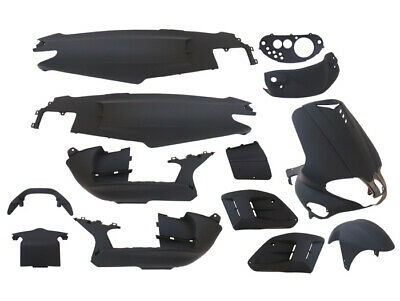 Verkleidungsteileset Body kit EDGE 15 schwarz matt Gilera Runner 50 125 180ccm