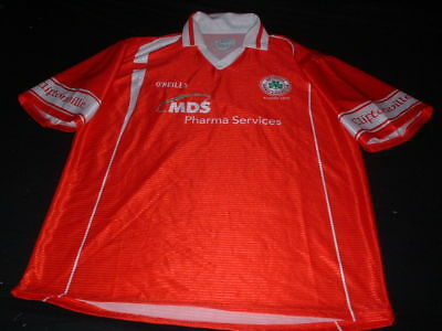 Cliftonville FC West Belfast N. Ireland Football Large Mans Home Jersey