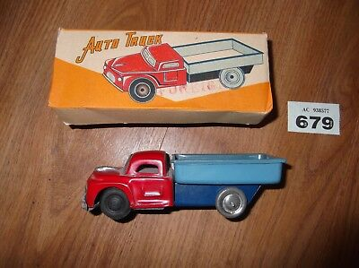 Vintage Tin Plate Lorry / Truck Boxed !!